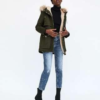 XS Hooded Winter Parka