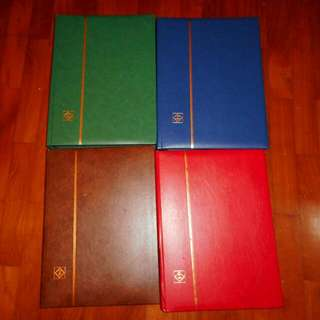 4 Stamp Albums Lighthouse Branď Unused, Made In Germany,  All 4 For $50