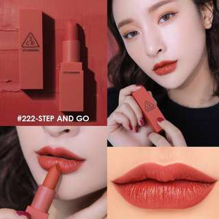 (BN) 3CE MOOD RECIPE LIPSTICK #222 STEP AND GO