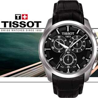 瑞士天梭 TISSOT COUTURIER CHRONOGRAPH WATCH