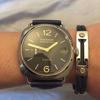 PAM 338 Rare Titanium Case Watch 45mm