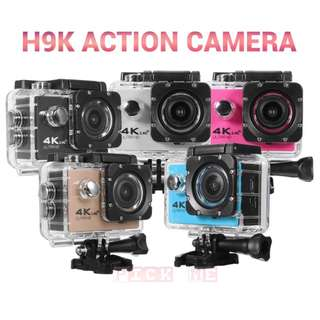 H9K 4K Ultra HD Waterproof Sports Camera 170°Wide Angle Waterproof 30M