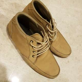 designer boots / high cut / shoes