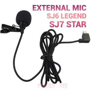Original SJCAM Brand External Microphone MIC for SJCAM SJ6 LEGEND SJ7 Star SJ360