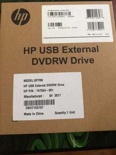 HP DVD External Drive