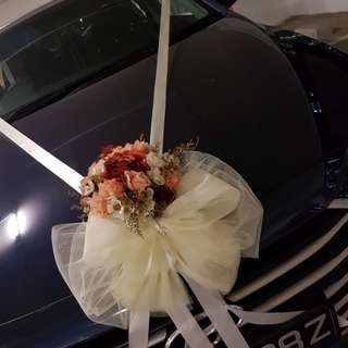 La dolcezz cheapest wedding car decor