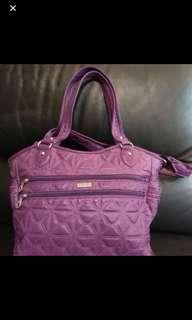 九成新EIKO collection 紫色靚手袋