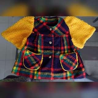 💙💛❤️Cute Plaid Dress/Top from Japan❤️💛💙