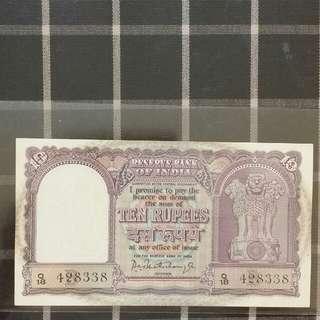 India 10 Rupees UNC