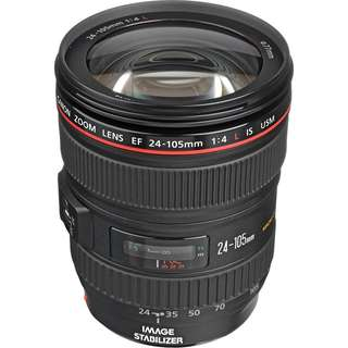 Canon 24mm - 105mm Used