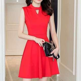 Dress A Line; Sleeveless high waist dinner gown; formal office work function ball room; woman women female girls lady ladies;