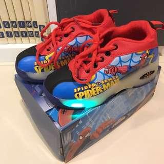 SpiderMan Skating Sneakers $30