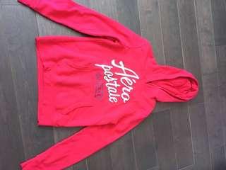 aéropostale pink hoodie