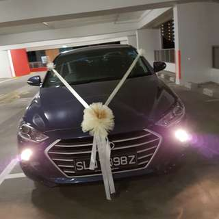 La dolcezz cheapest wedding car decor sales