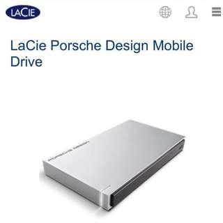 LaCie Porsche Design Mobile Drive 1TB
