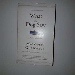 Book Titled : What The Dog Saw