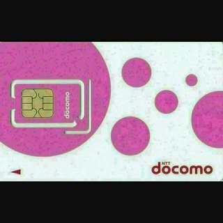日本 數據卡 8日 4G 2GB +128kbps 無限數據 上網卡 SIM CARD