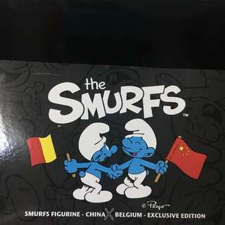 Smurf China x Belgium Shanghai World Expo