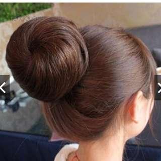 Hair Extension False Fake Hair Bun Wig