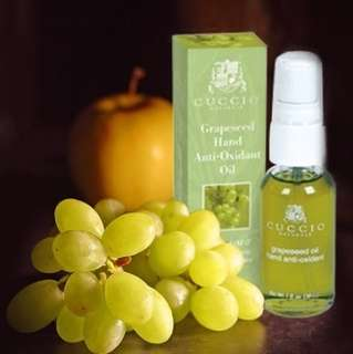 Cuccio Grapeseed Hand Anti-Oxidant Oil 1 oz Anti-aging hand rejuvenator
