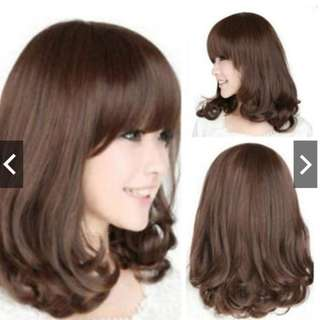 Curly Wig Hair Cosplay Costume