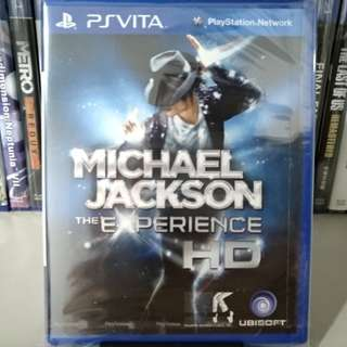 (New!) PS Vita - Michael Jackson: The Experience