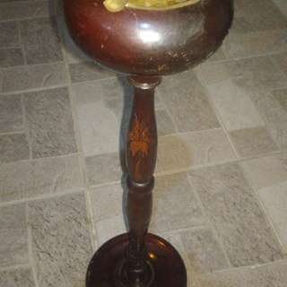 Ashtray kayu lama antik antique