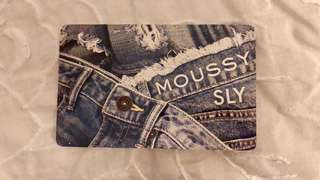 Moussy Sly 限量版八達通