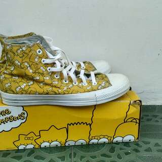 converse x the simpsons size 9