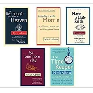 Mitch albom collection eBooks