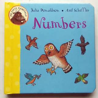 Preloved Board Book - Numbers (My First Gruffalo)
