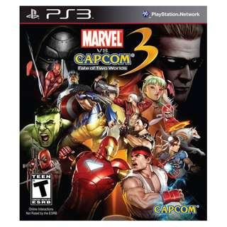 PS3 Marvel VS Capcom 3: Fate of Two Worlds