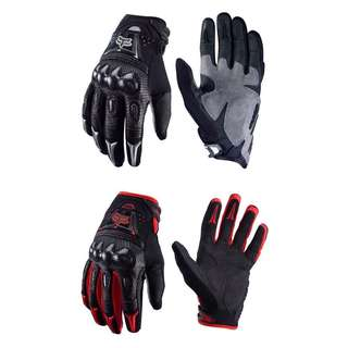 FOX BOMBER Gloves   Carbon-Fiber Protection