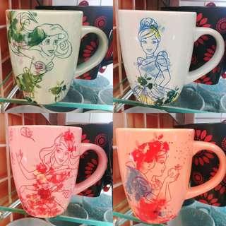 Disney Princess Mug 迪士尼公主系列水杯