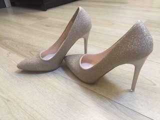 香檳金色 高跟鞋