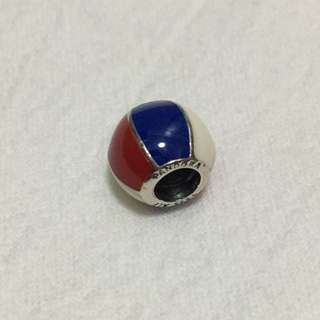 Pandora 紅白藍波波圓珠