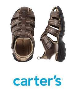Carters Fisherman Sandals  Size 9 for boys