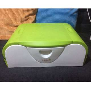 Boon Potty Bench Training Toilet with Side Storage (Green)