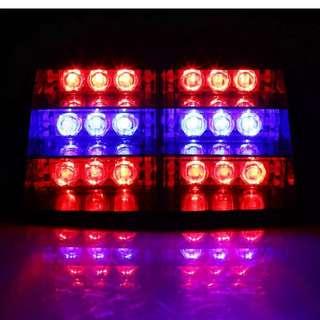 Touring, warning, Emergency, LED Light, Blue, n, Red.