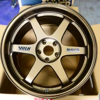 "Sports Rims TE37 18"" 10.5j 1 Pair"