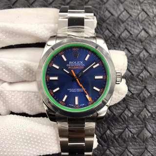 玩表吧 見面交收 Rolex 勞力士 Milgauss 116400 40mm 藍面 AR出品