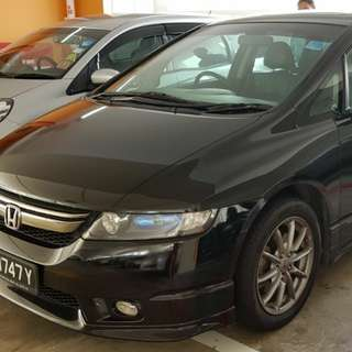 Honda Odyssey MPV for Uber/Grab rental