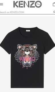 Authentic Kenzo Tiger Tshirt (L)