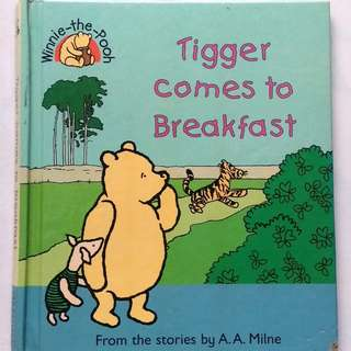 Preloved Story Book - Tigger Comes to Breakfast