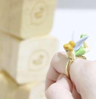 創意 設計 Thicker Bell 仙子陶瓷戒指 N2