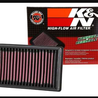 BMW GS/A, RT, R model - K & N Airfilter