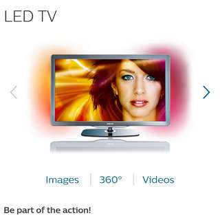 "Philips 52"" LED TV"