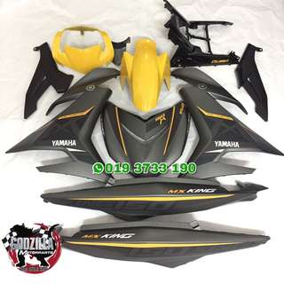 Coverset Y15ZR Mx King Grey Yellow Kuning 2018
