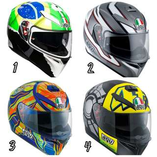 (FREE DELIVERY ISLANDWIDE) AGV K3 SV Helmet