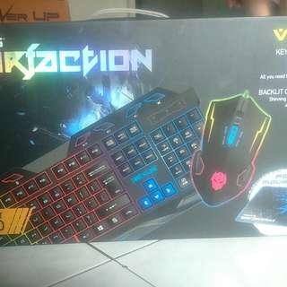 Keyboard gaming combo